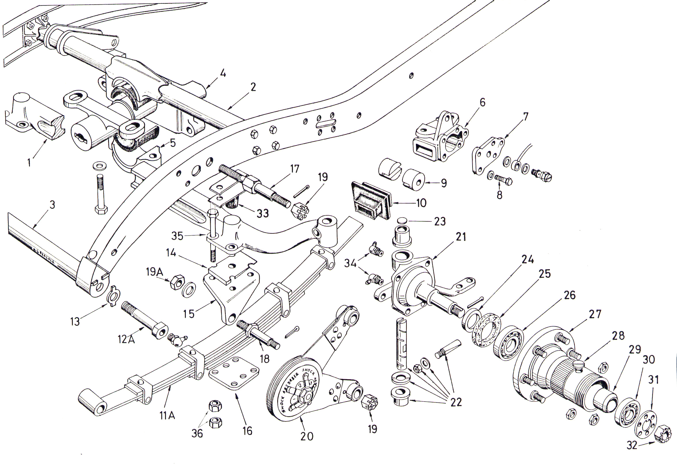 mmm front chassis  suspension  u0026 axle  p2
