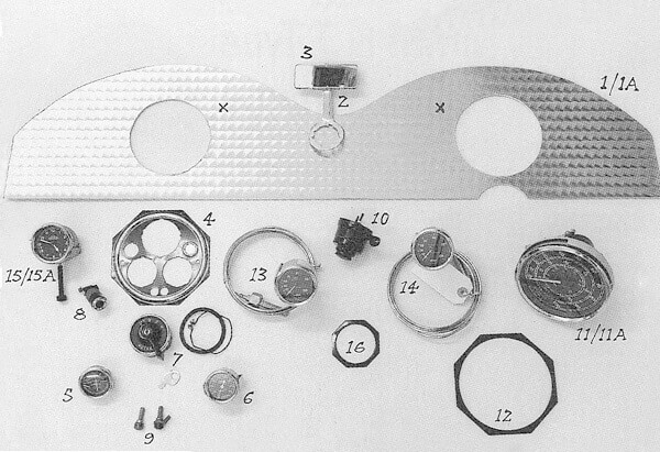 F2 J2 L Dashboards  Gauges And Fittings  P47