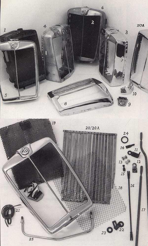 Incredible Mmm T Type Radiators P39 The Mg Automobile Company Wiring Database Hyediarchgelartorg
